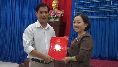 Ông Trần Trọng Khánh nhận quyết định bổ nhiệm